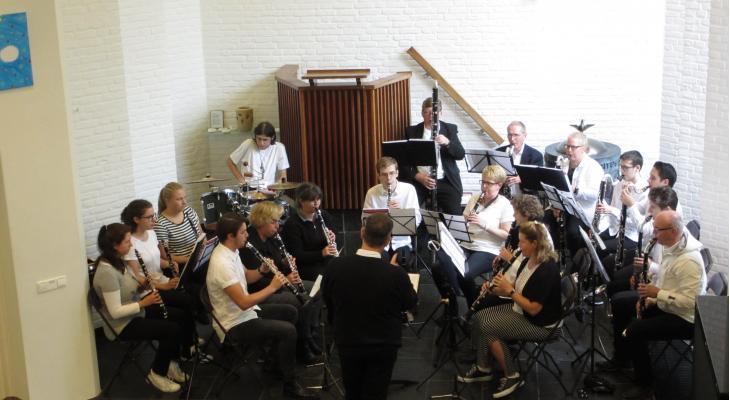 Clarinet Choir Weert speelt in Bethelkerk