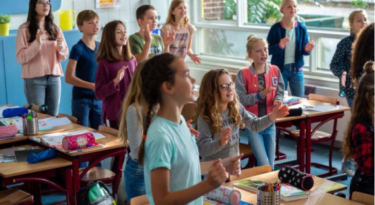 Muziekles voor 7488 kinderen in de Hoeksche Waard