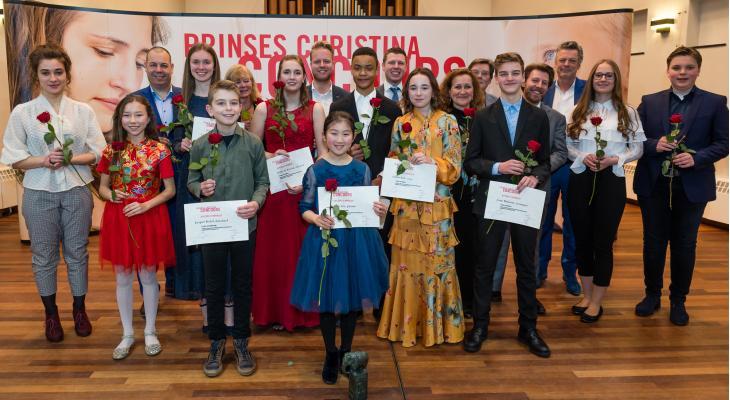 KNMO-muzikanten in de prijzen op Prinses Christina Concours