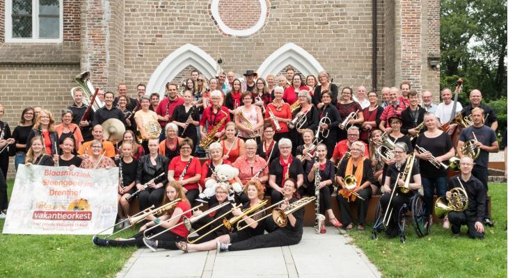 Aanmelding lustrumproject Drents Vakantie Orkest van start