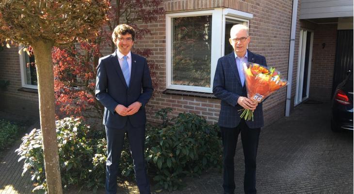 Voorzitter Juliana Beekbergen koninklijk onderscheiden