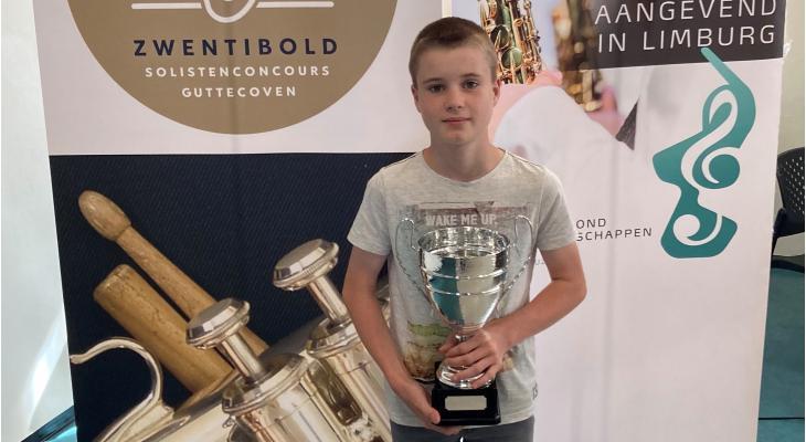Malletspeler wint eerste Zwentibold Concours