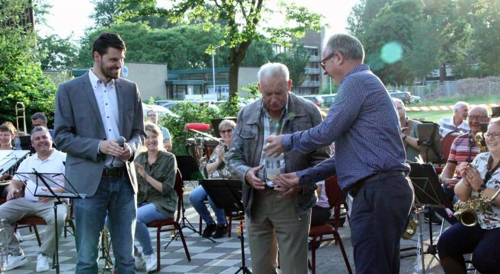 Excelsior eert erelid Jaap Kooijman met Jaap Kooijmanplein
