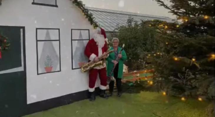 Digitale kerstgroet van Aalsmeers Harmonie