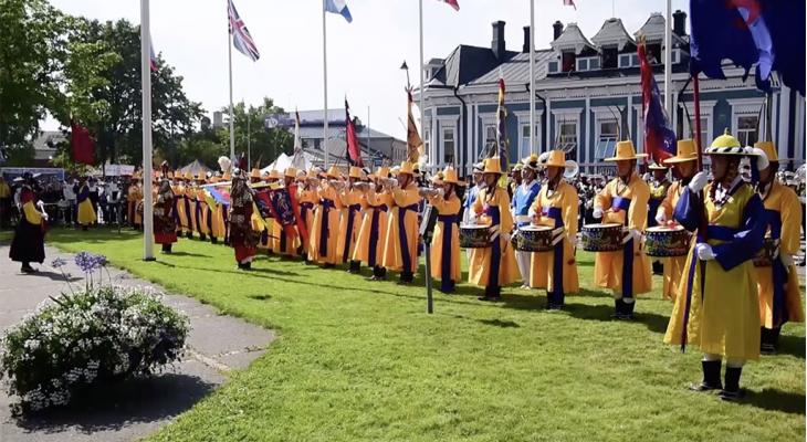 Nationale Taptoe met Koreaanse Army Band en topsolisten