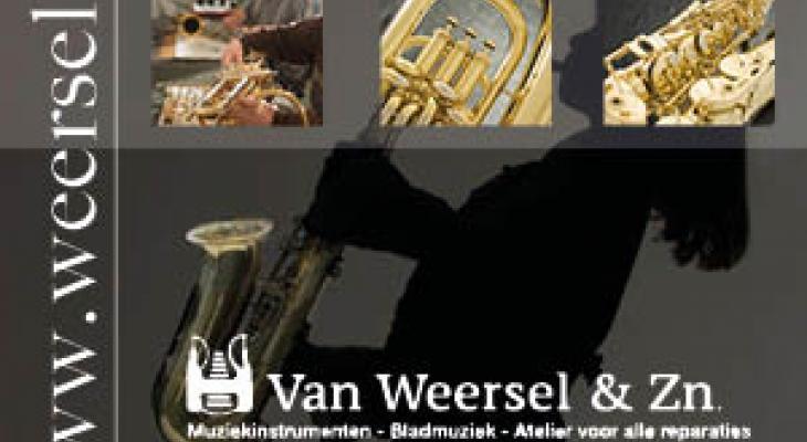 Muziekhandel Van Weersel: passie voor instrumenten