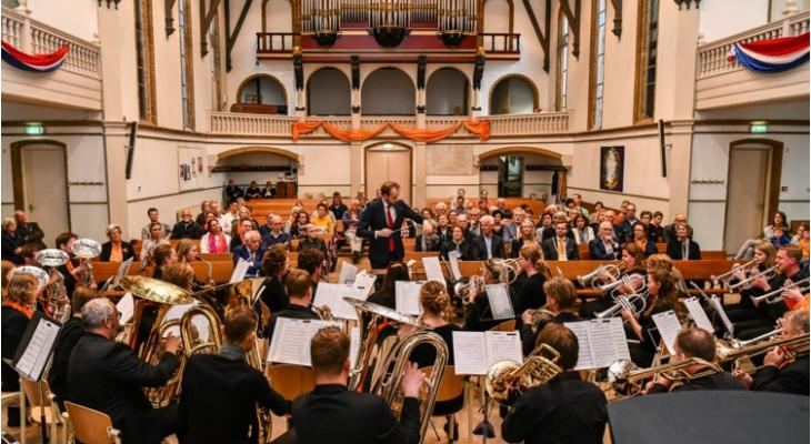 Gelders Fanfare Orkest te gast bij CWO Groningen