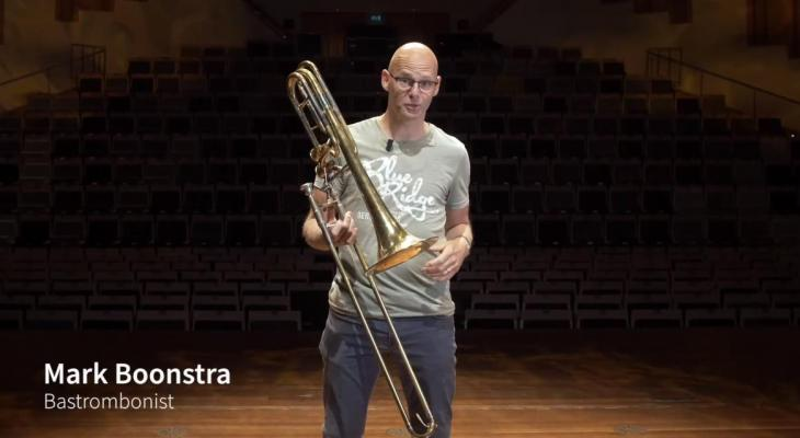 #1: Mark Boonstra (trombone)