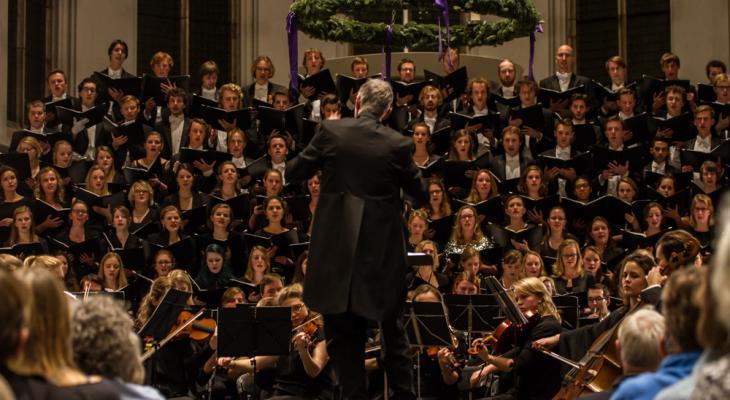 Bachs' Matthäus-Passion door Utrechts Studenten Koor en Orkest