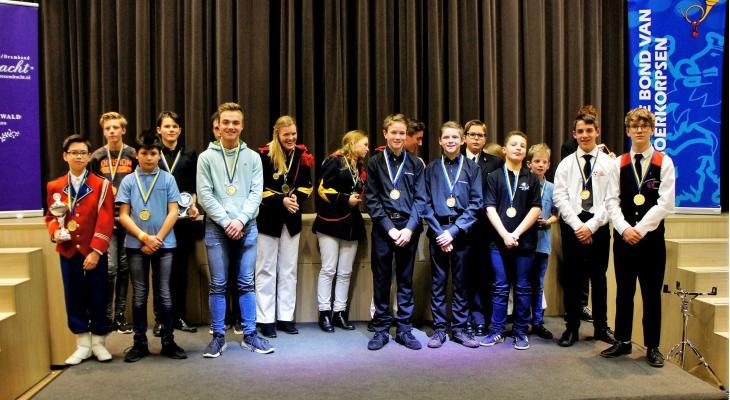 Alle uitslagen van LBT-concours in Siebengewald