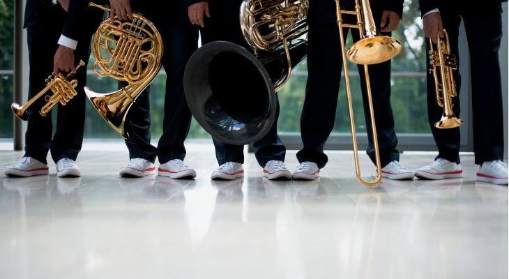 Canadian Brass met Carnaval in Leiden