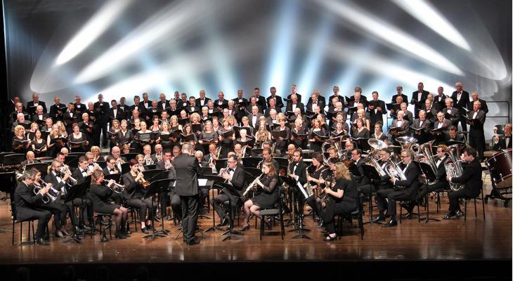 75 jaar bevrijding met Limburgs Fanfare Orkest