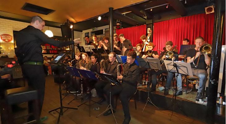 Muziek Atelier: kweekvijver voor Young Talent Jazz Band
