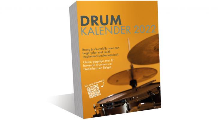 <p>Drumkalender 2022 met nieuwe oefeningen</p>