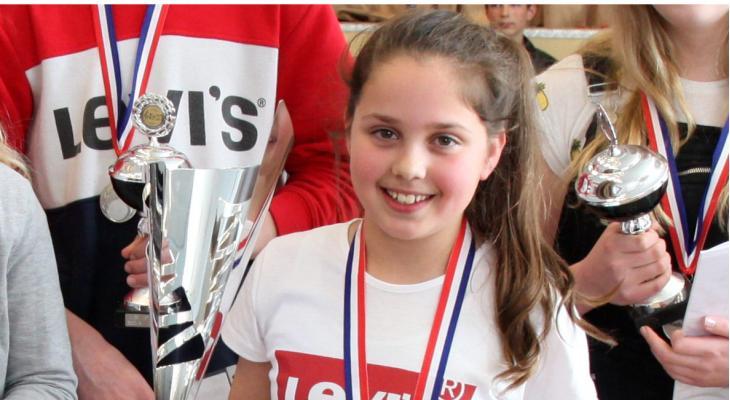 Naomi Schaaf Talent van de dag bij jeugdfestival Waadklank