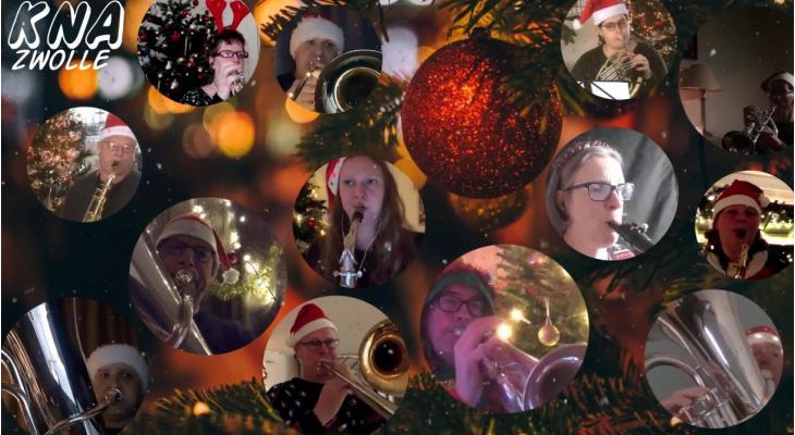 Alternatieve kerstgroet van KNA Zwolle