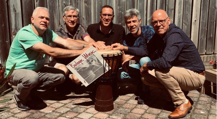 Percussie-ensemble na 35 jaar hot in dancescene