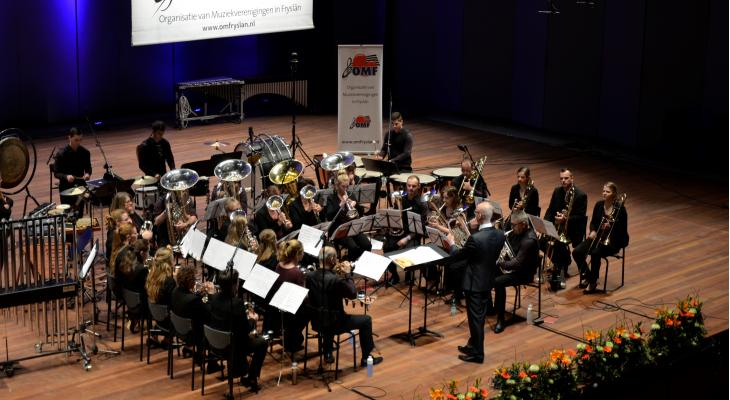 Klank en kleur ontbreken bij brassbands op OMF-concours