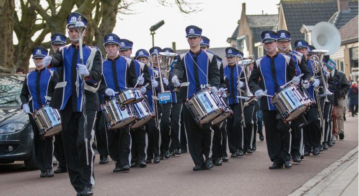 Oranje viert 125-jaar muziek in Minnertsga