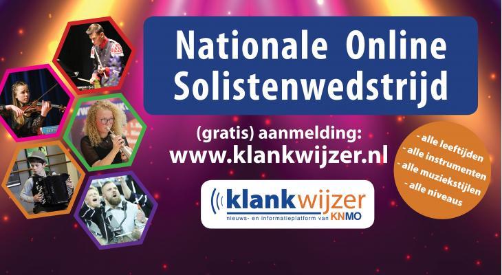 Klankwijzer en KNMO werken aan Nationale Online Open Solistenwedstrijd