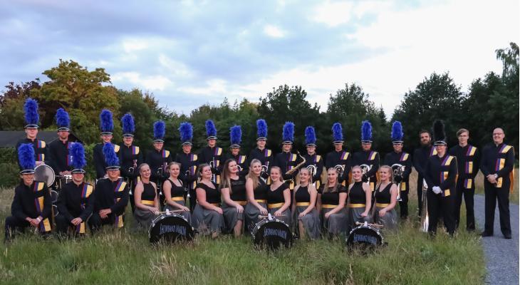 Publiek kan Showband Marum uitzwaaien voor Canada-trip