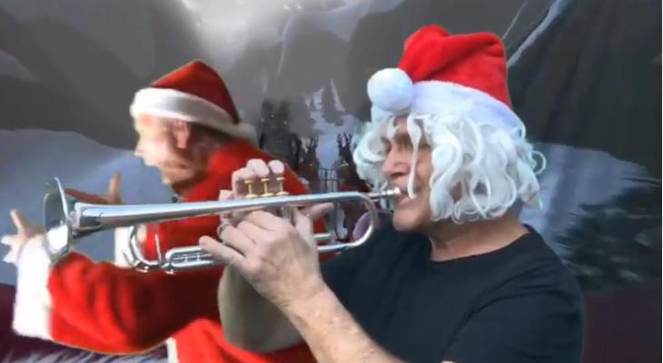 Muzikale kerstgroet van Kunst Na Arbeid Dordrecht