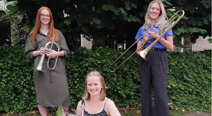 Eendracht zendt D-examen van muzikanten live uit