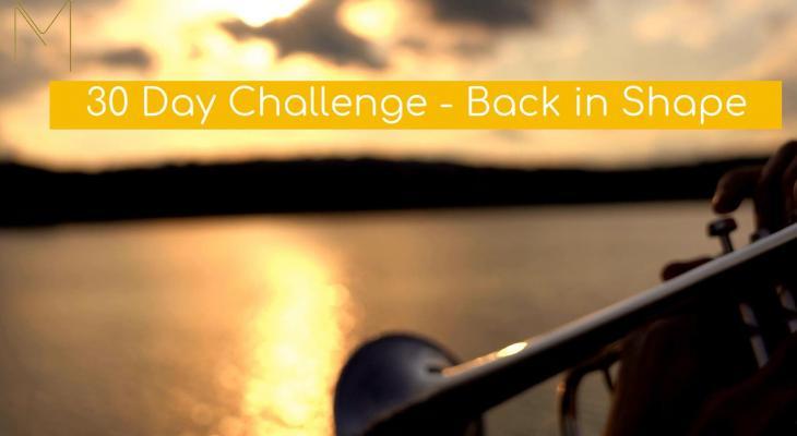 Start vandaag nog jouw 30 day Challenge!