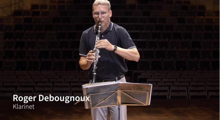 Profs helpen amateurs #2: Roger Debougnoux (klarinet)