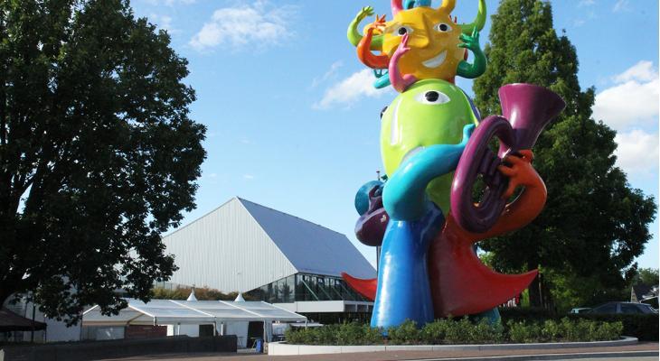 WMC 2021 bouwt WMC Village in Stadspark