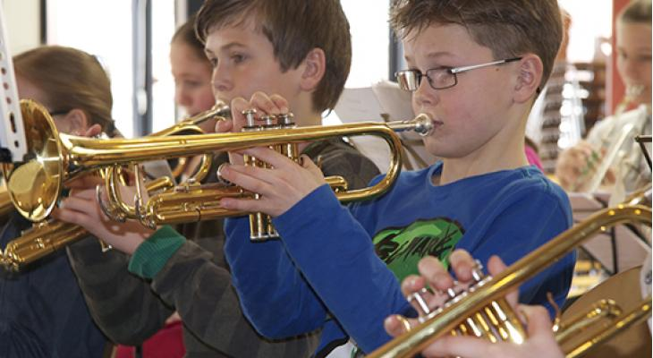 Mega Kids Orkest in Tiel
